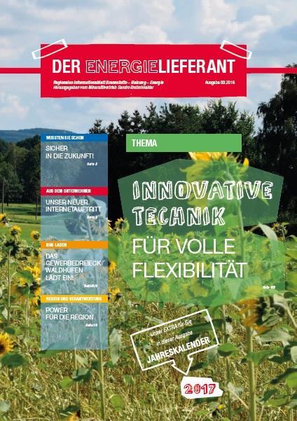 Cover - Der Energielieferant 2017 - Heft 08